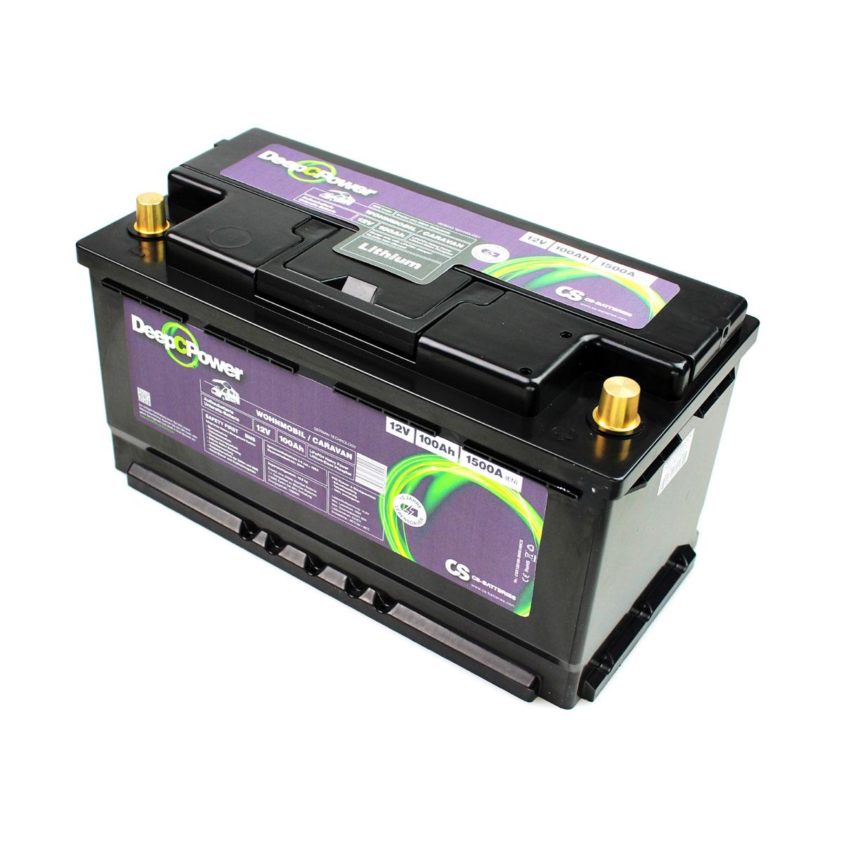 CS Electronic CSX12100-BMS100CS - 12V LiFePO4 Akku 100Ah
