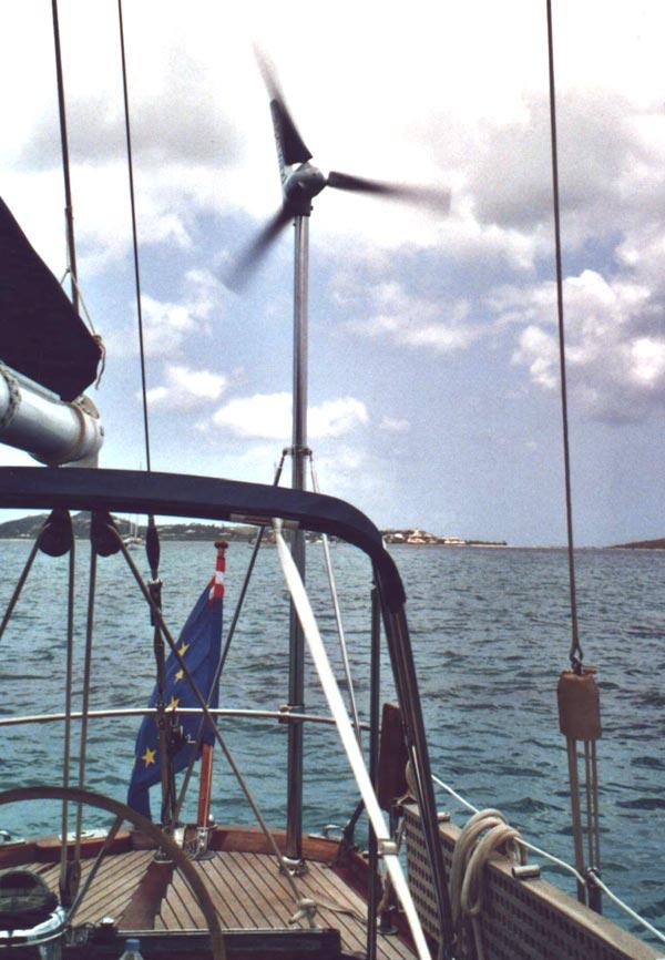 Superwind Mast-Set für Yachten - Hardware