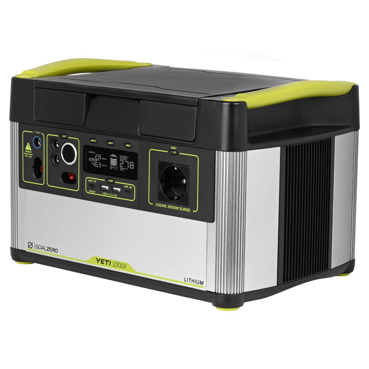 Yeti 1000X Solar Generator