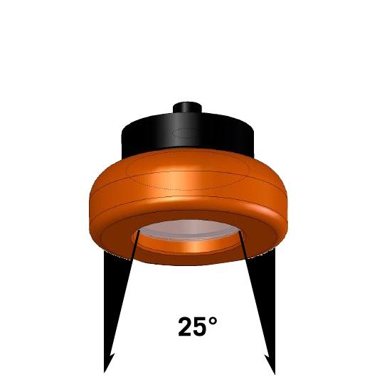 LED Lampe 3,6W mit 25 Grad Leuchtkegel