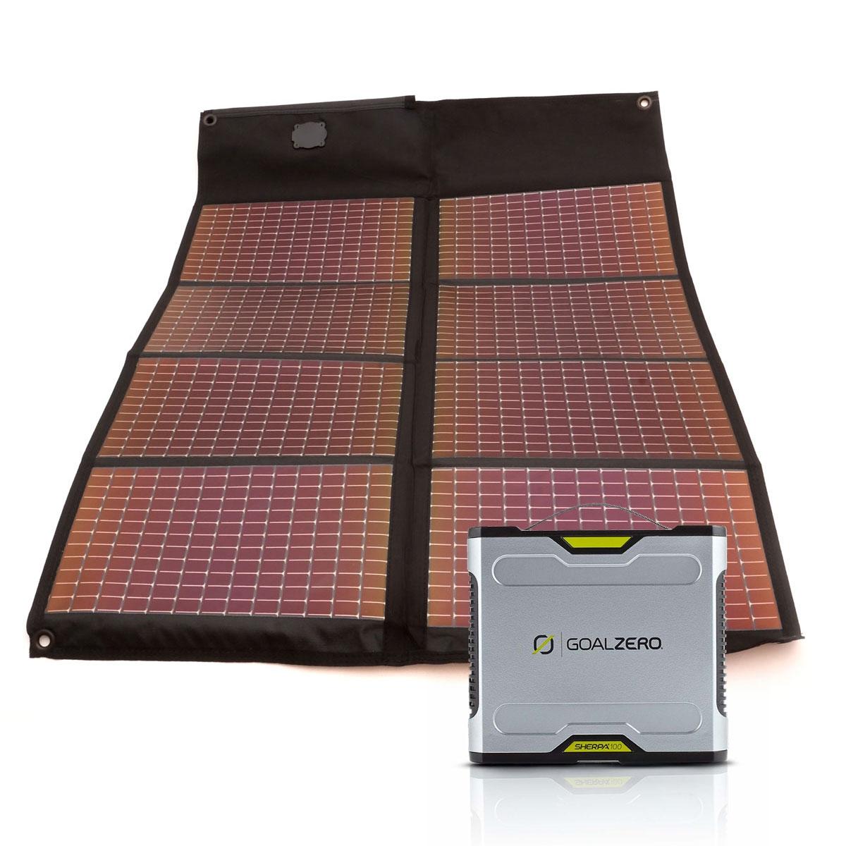 Sherpa 100 Solar Kit mit PowerFilm 20Wp