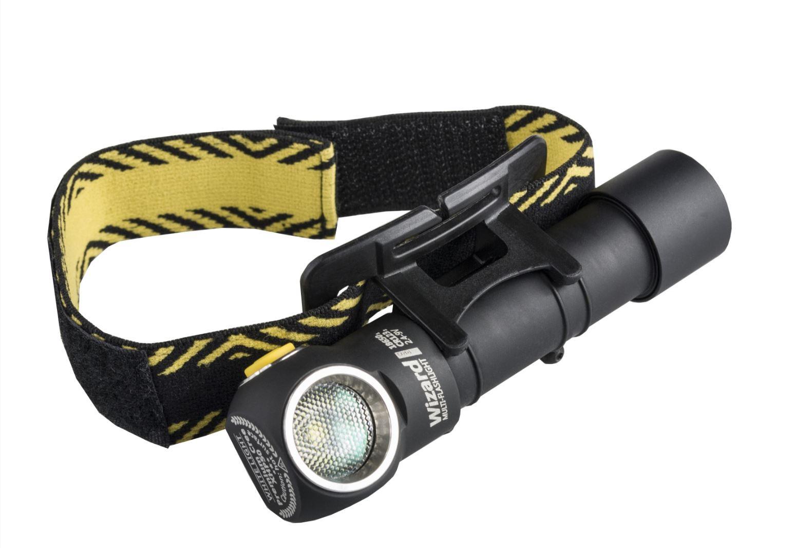Armytek Wizard Pro V3 XHP50 USB - LED Stirnlampe warmweiss