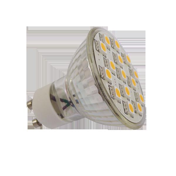 Green Power LED SMD-Spot GU10 2,8W 120°, EEK: A+