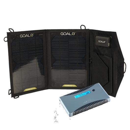 Nomad 7M + Minigorilla Solarladegerät
