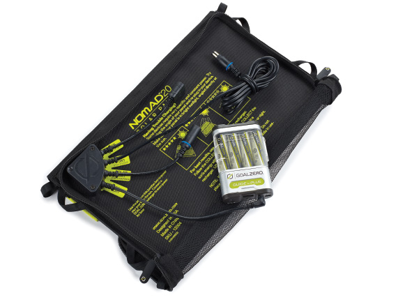 Powergorilla + Nomad 20 Solarladegerät