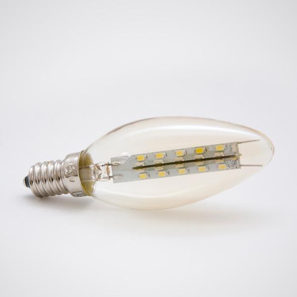 Green Power LED SMD-Kerze E14 2,8W 360° klar, EEK: A+