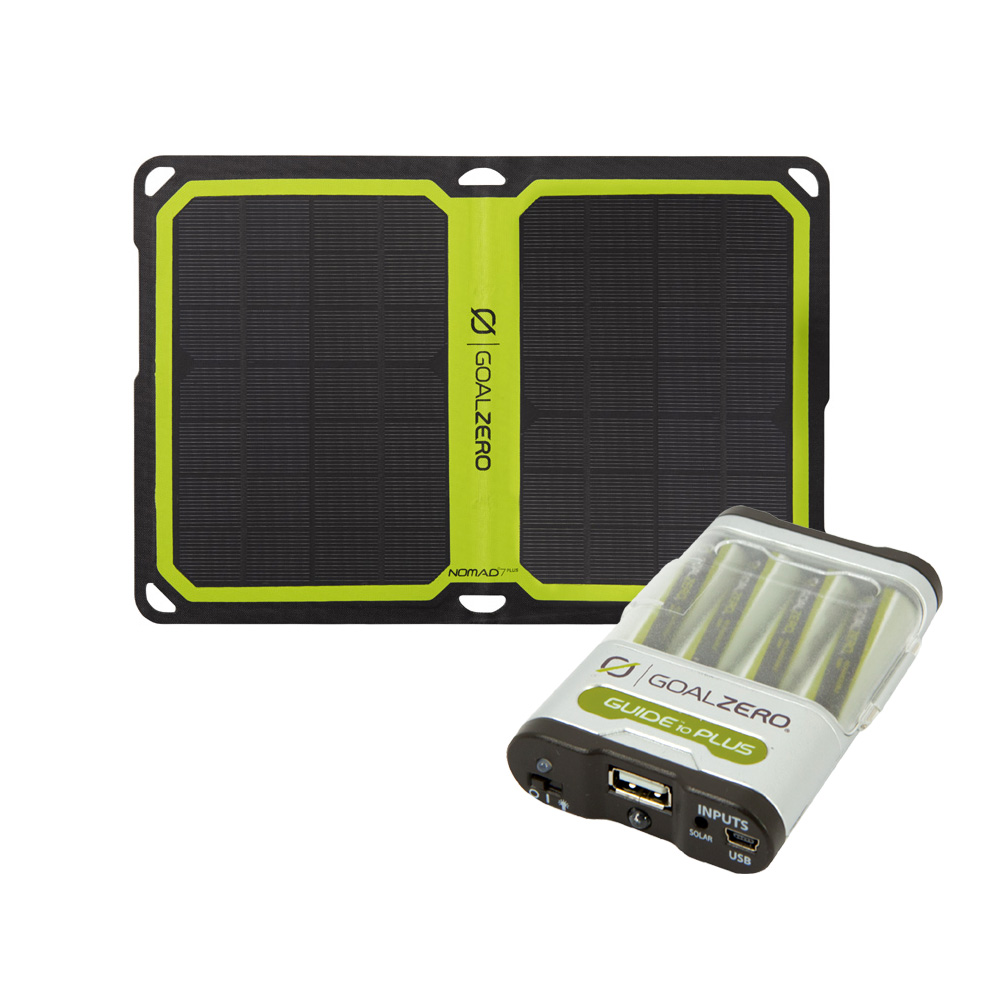 Guide 10 Plus Solar Recharging Kit mit Nomad 7 PLUS