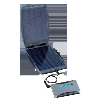 PowerTraveller Minigorilla + Solargorilla Netbook Solarladegerät