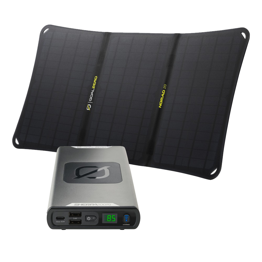 Sherpa 100PD Solar Kit mit Nomad 20