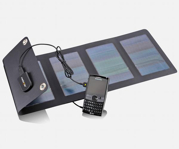 Aurora 4 faltbares Solarmodul 4Wp mit USB