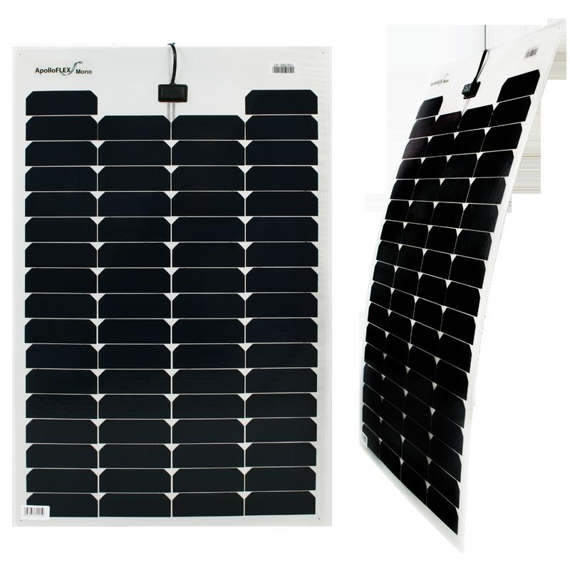 ApolloFLEX mono flexibles Solarmodul 70Wp