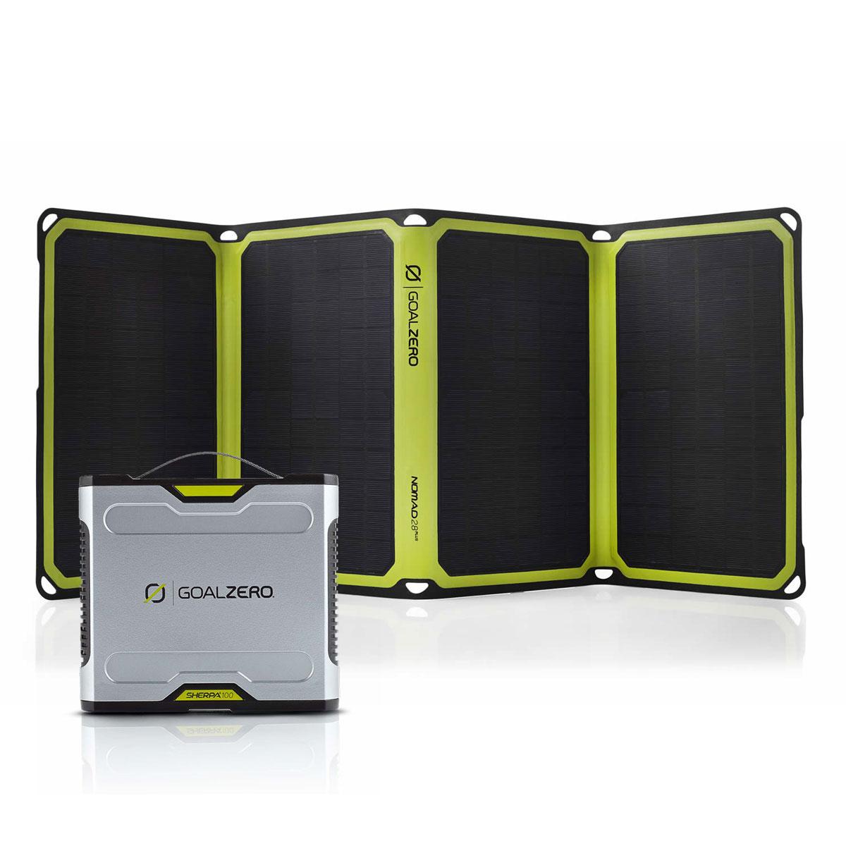 Sherpa 100 Solar Kit mit Nomad 28 Plus