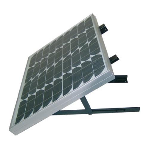 Solarmodul-Aufständerung mit verstellbarem Winkel