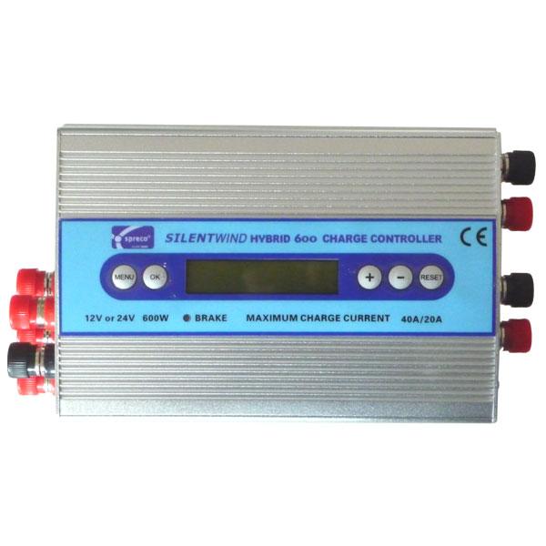 Silentwind Hybrid 600 Laderegler Wind + Solar